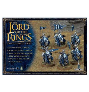 Games Workshop Warhammer The Lord Of The Rings Knights Of Dol Amroth 06-07
